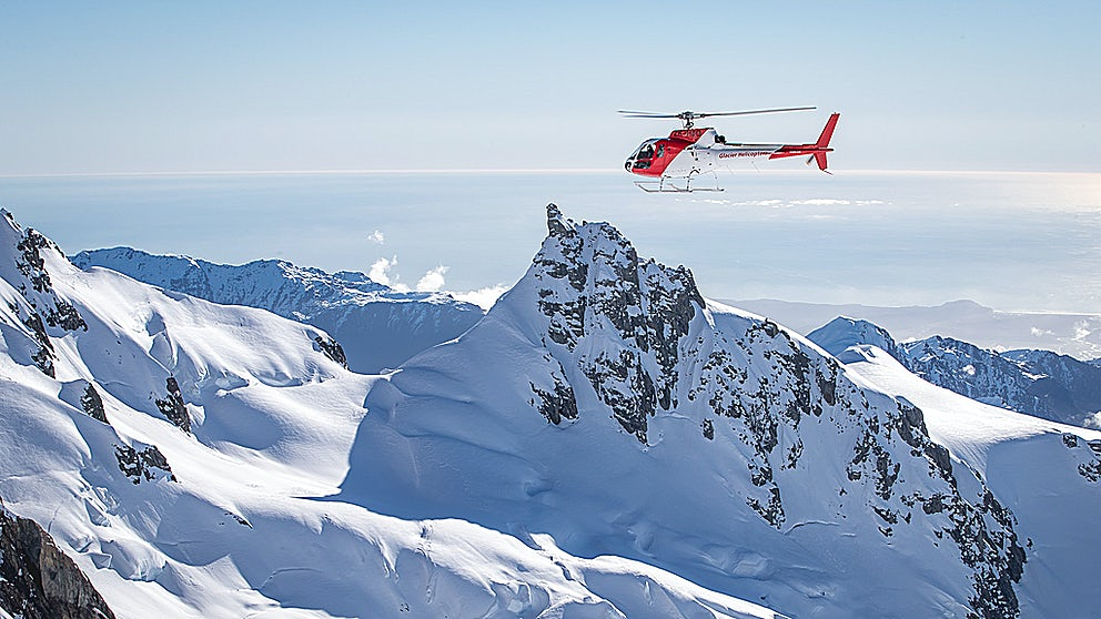 Glacier Helicopters soaring the skies
